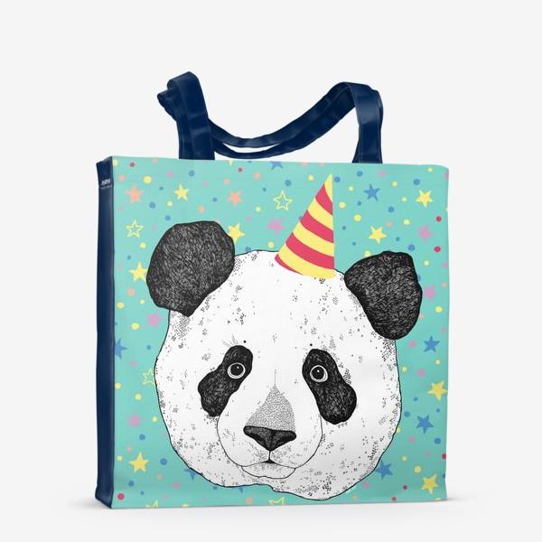 Сумка-шоппер «Праздничная панда»
