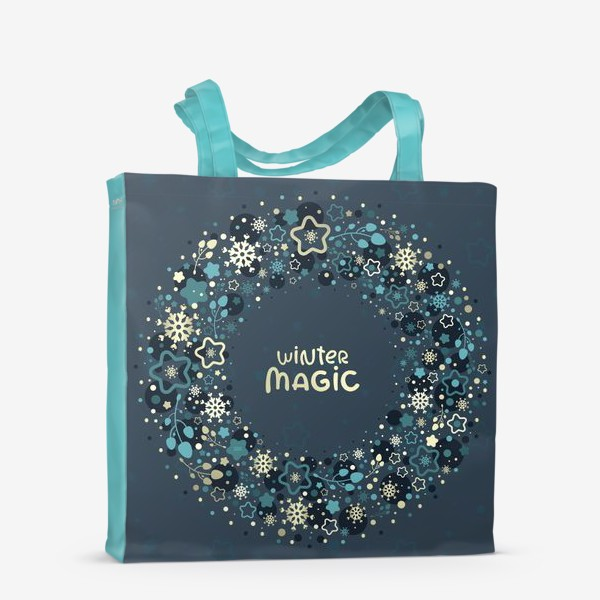 Сумка-шоппер «Winter Magic»