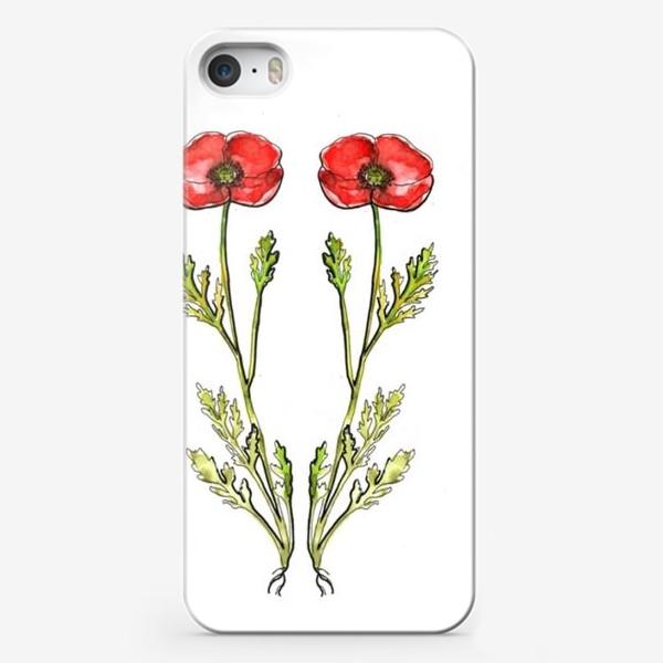 Чехол iPhone «Маки»