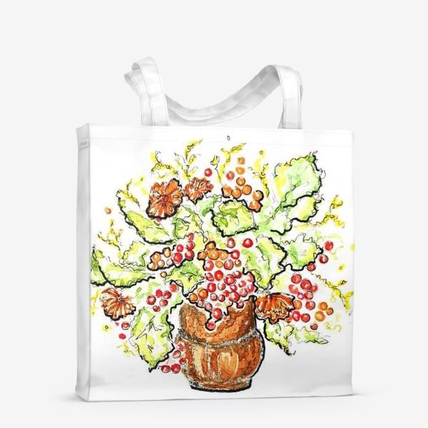Сумка-шоппер «Осень в вазе»