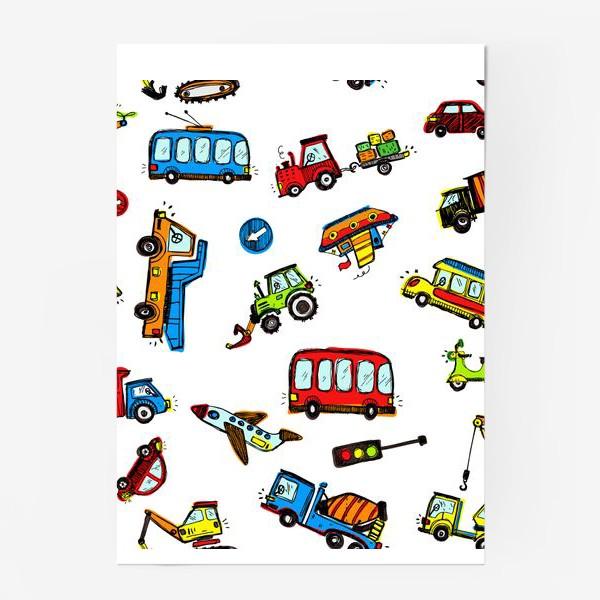 Постер «Транспорт »