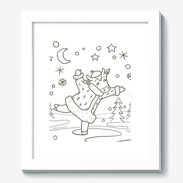 Картина «Корова на льду»