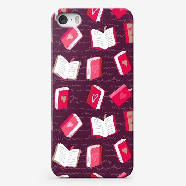 Чехол iPhone «Книги о любви»