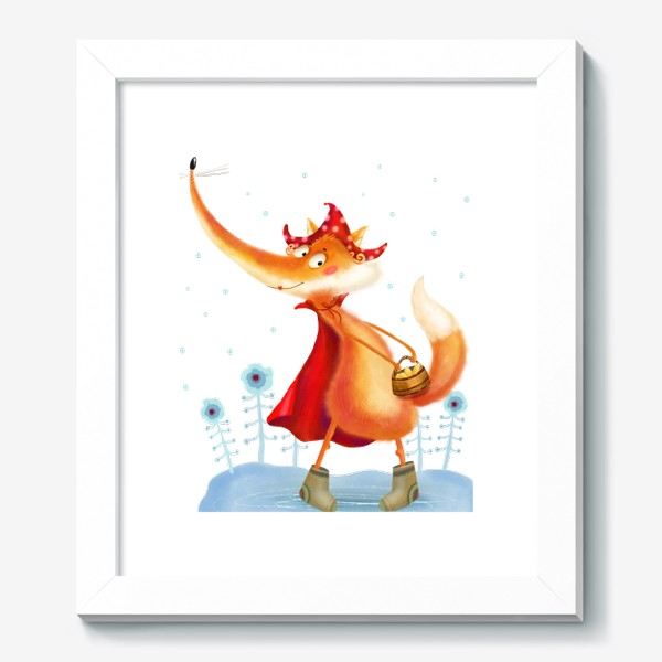 Картина «Рыжая лисичка»