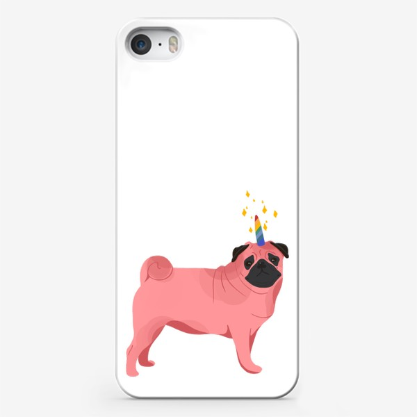 Чехол iPhone «Волшебный Мопс»