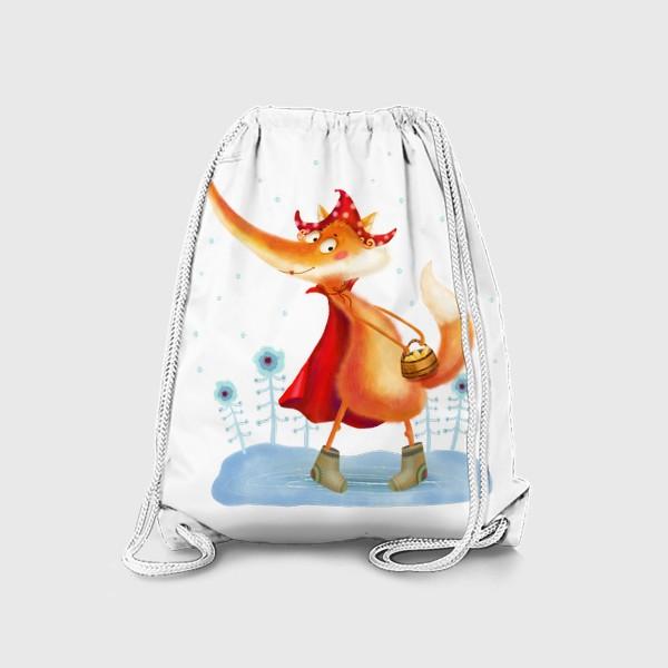 Рюкзак «Рыжая лисичка»
