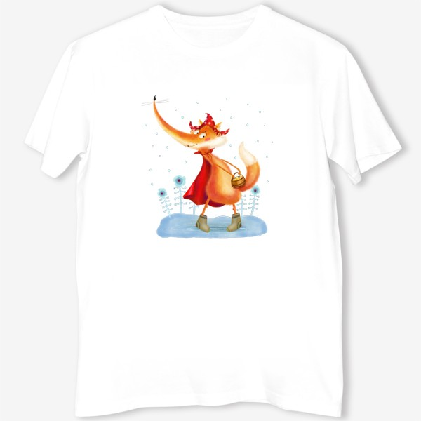 Футболка «Рыжая лисичка»