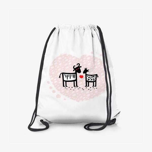 Рюкзак «Парочка. Сердечко»