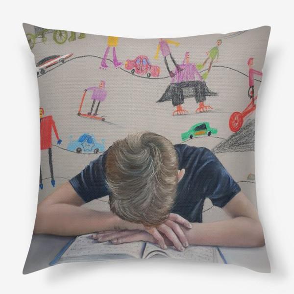 Подушка «Снова в школу»