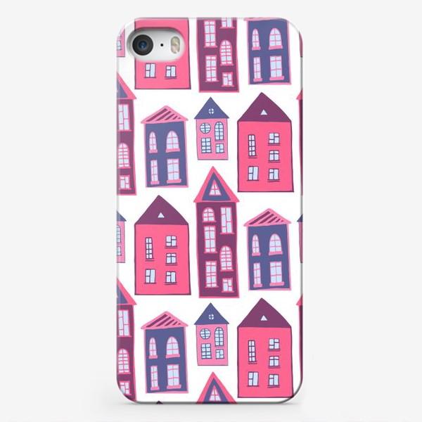 Чехол iPhone «Домики мечты»