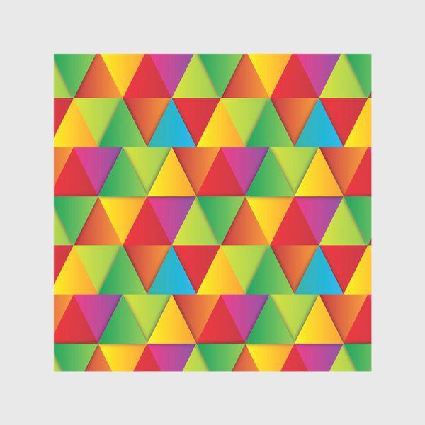 Скатерть «Яркие треугольники»