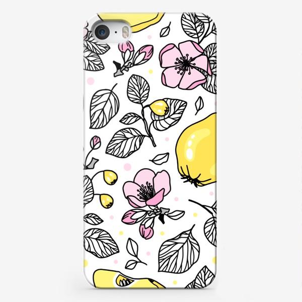 Чехол iPhone «Цветущая айва»