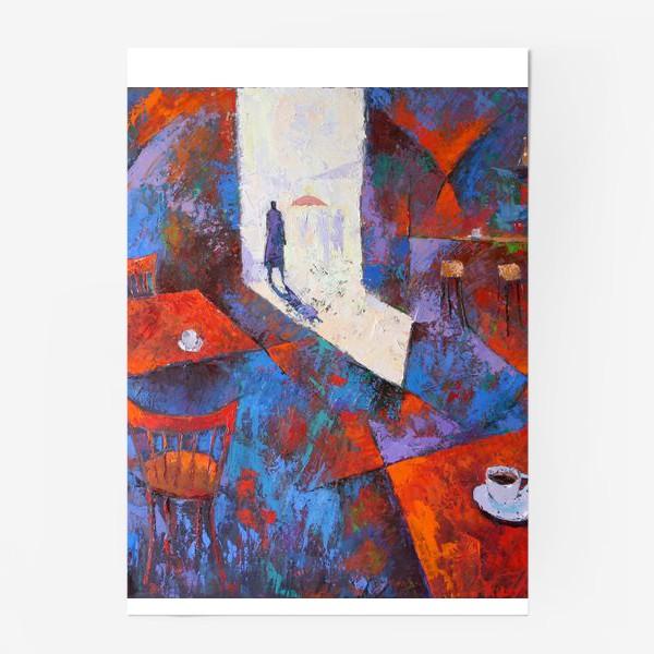 Постер «Двойной эспрессо»