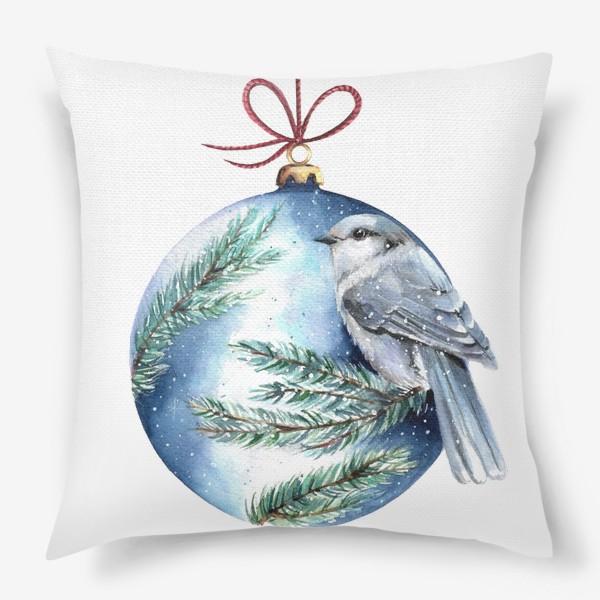 Подушка «Птичка»