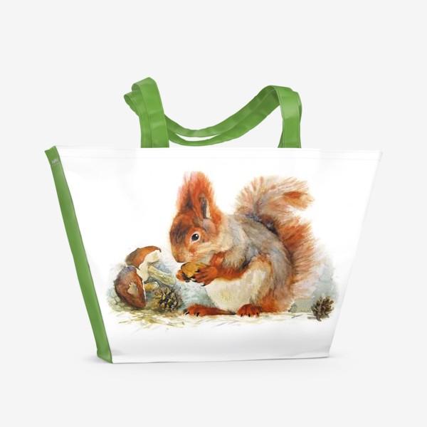 Пляжная сумка «Белка»