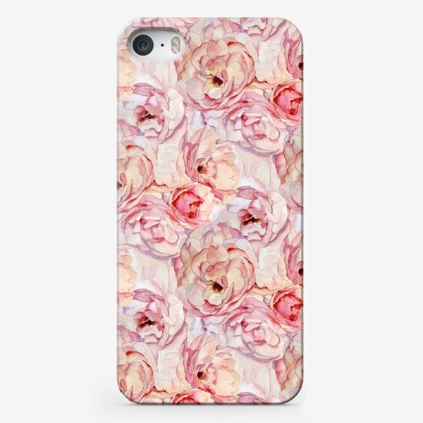 Чехол iPhone «Розы аромат»