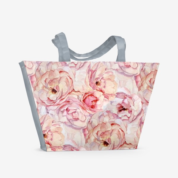 Пляжная сумка «Розы аромат»