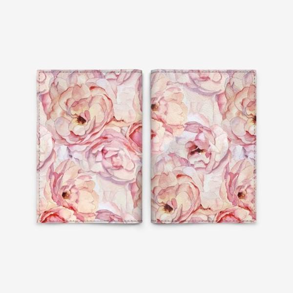 Обложка для паспорта «Розы аромат»