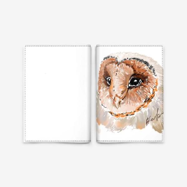 Обложка для паспорта «сова»