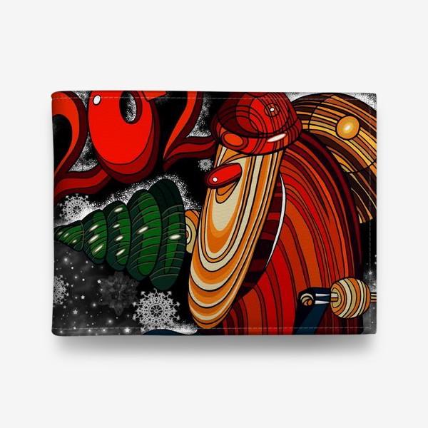 Кошелек «Дед Мороз 2.0 - 2.1. Ночь . Новогодняя сказка. Чудо. Волшебство.»