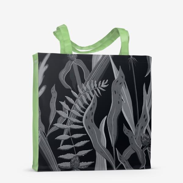 Сумка-шоппер «Узор с травой »