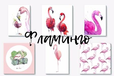 Подушки, постеры, чехлы с фламинго: 30 вариантов от PinkBus