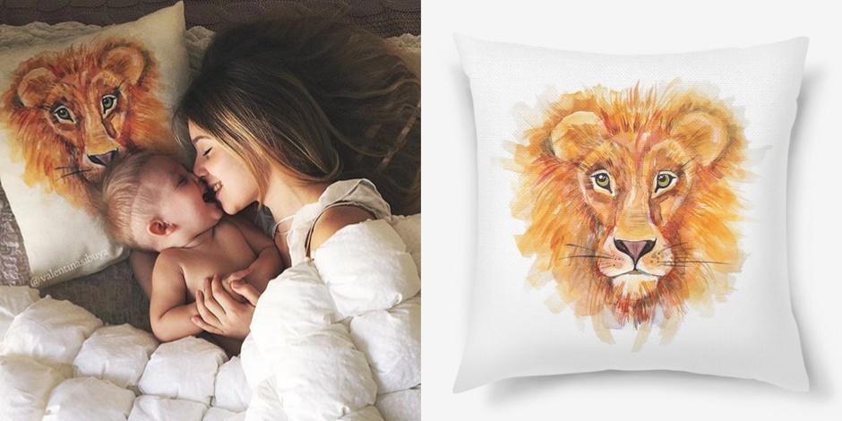 Если лев дарит подарок
